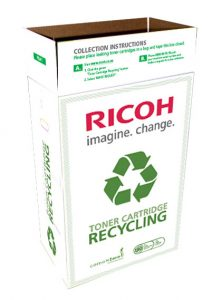 Ricoh Toner Recycling Collection Box